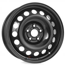 Штампованные колесные диски Next NX-047 6x15 5x105 ET39 DIA56.6 BK